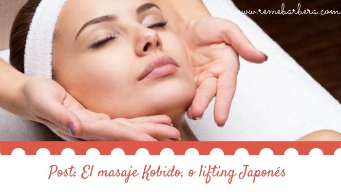El masaje Kobido, o lifting Japonés